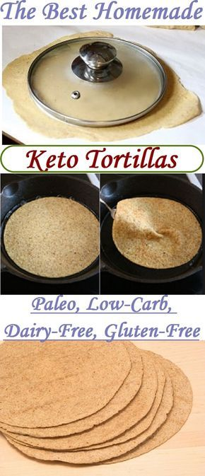 The best keto tortillas – Recipe