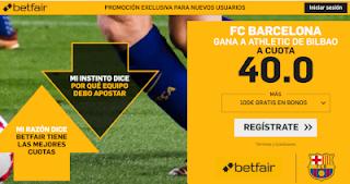 betfair supercuota Barcelona gana a Athletic 29 septiembre