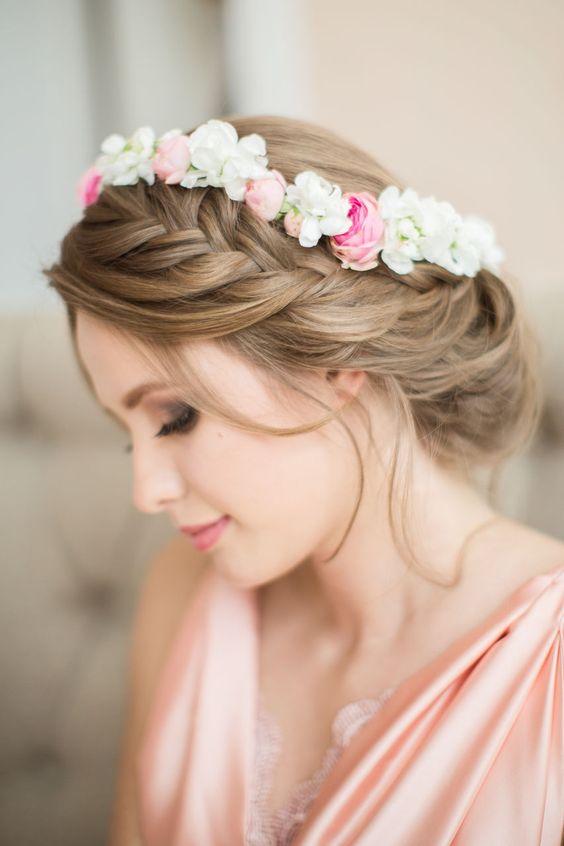 De última generación peinados de flor Fotos de tutoriales de color de pelo - La moda en tu cabello: Modernas Trenzas para fiestas 2016