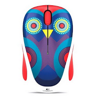 LOGITECH Wireless Mouse M238 [910-004494] - Ophelia Owl