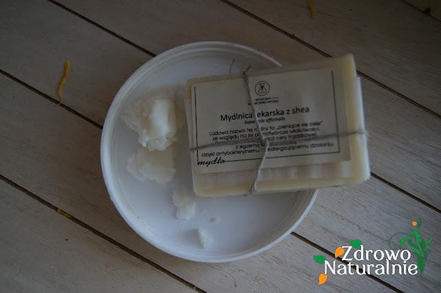Bydgoska Wytwórnia Mydła - Mydło Mydlnica lekarska z Shea