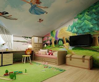 linda habitación niña