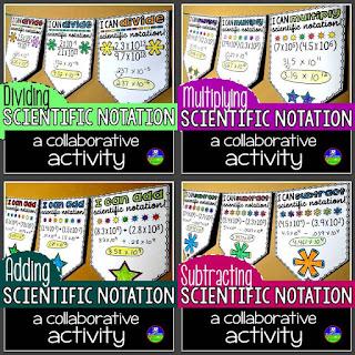 Scientific notation pennant bundle