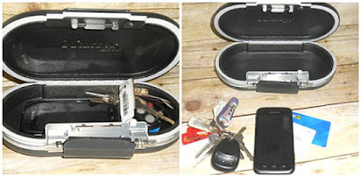 Portable Personal Safe for Traveling from Master Lock