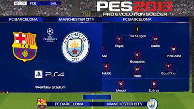 PES 2013 Scoreboard UEFA Champions League 2018/2019