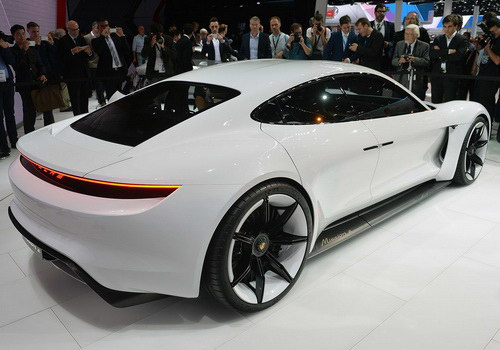 Tinuku.com Porsche projecting half-sales in 2023 for electric cars
