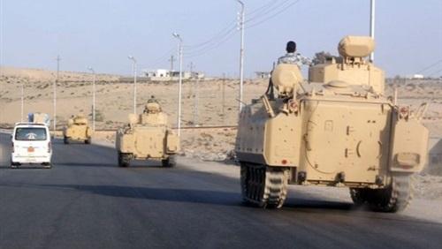 تفاصيل الهجمات الإرهابية التي استهدفت 3 أكمنة أمنية ودورية متحركة جنوب مدينة الشيخ زويد