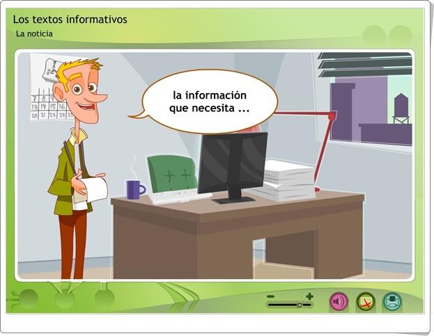 """""""La noticia"""" (Textos de Educación Primaria)"""