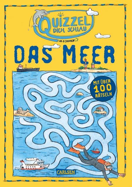 Quizzel dich schlau das Meer Rätsel Die Küstenkids im Bücherboot Kinderbuch Kinderbücher Tipps Rezension Verlosung Küste Meer Ozean Wasser See Strand Urlaub Schiff Schifffahrt