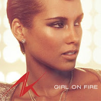 Portada del single Girl on Fire de Alicia Keys