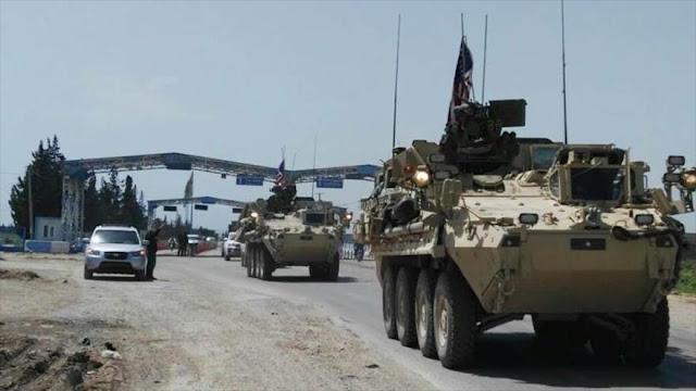 """Convoy militar de EEUU entra a Siria para """"contener"""" a sus aliados"""