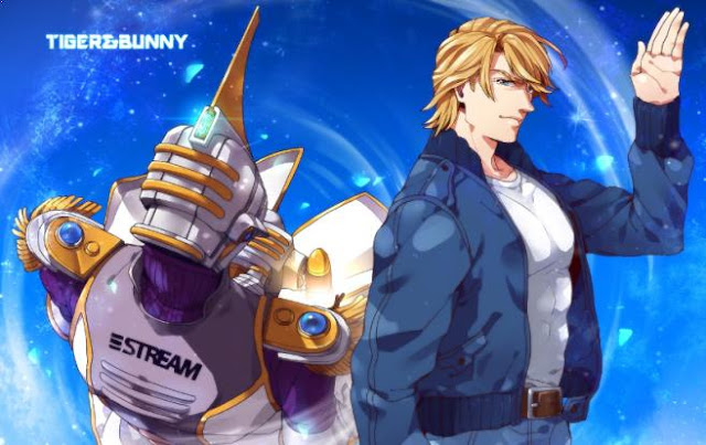 Keith Goodman (Tiger & Bunny) - Top Strongest Anime Character Who Wield Power of Wind/Air