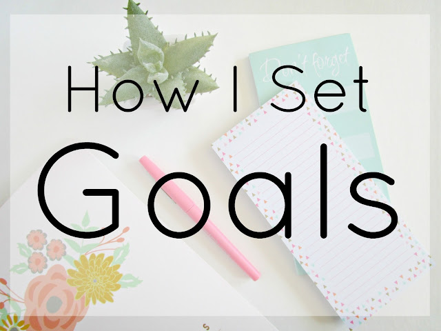 How I Set Goals from Courtney's Little Things