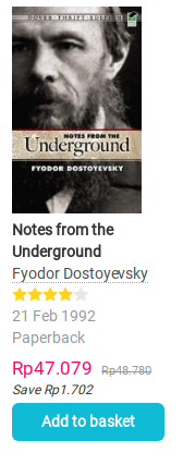 Book Notes From Underground