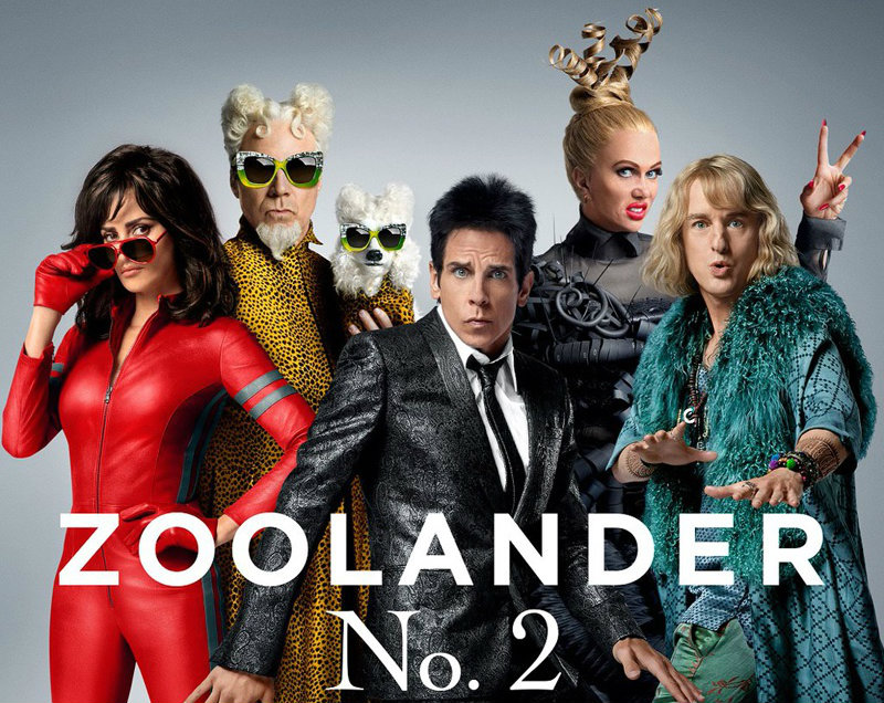 ZOOLANDER No. 2 : Get your Blue Steel ready!