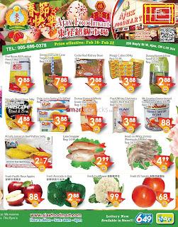 Ajax Foodmart Flyer February 16 - 22, 2018