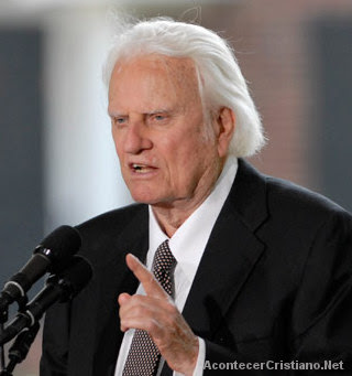 Billy Graham prepara evento evangelístico