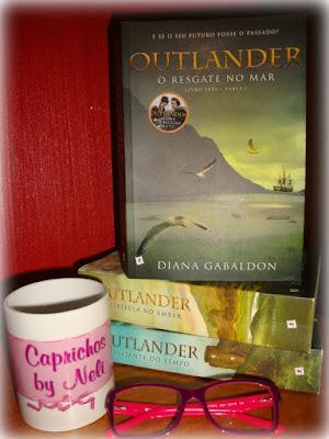 Resgate no Mar, Parte I, Outlander, Diana Gabaldon, Editora Saída de Emergência, Caprichos by Neli