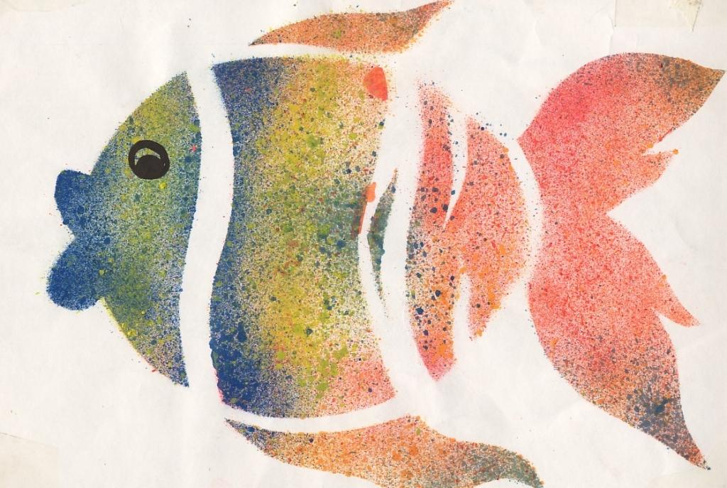 Blog de artes plasticas conociendo la t cnica del estarcido - Plantillas para la pared ...