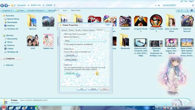 Cara Mengganti Icon Folder Pada Windows 7