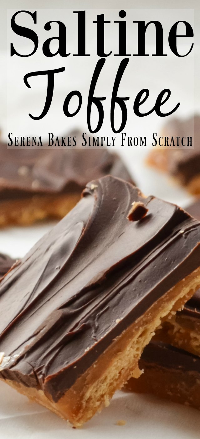 Saltine Toffee is a favorite Christmas Candy to serve over the holidays!