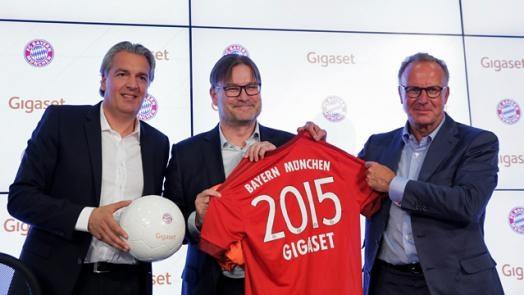 Gigaset se carga a Iphone y Samsung en el Bayern