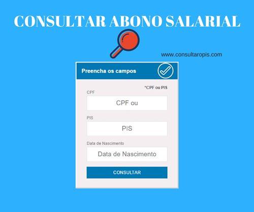 Consultar Abono Salarial 2017 PIS-PASEP