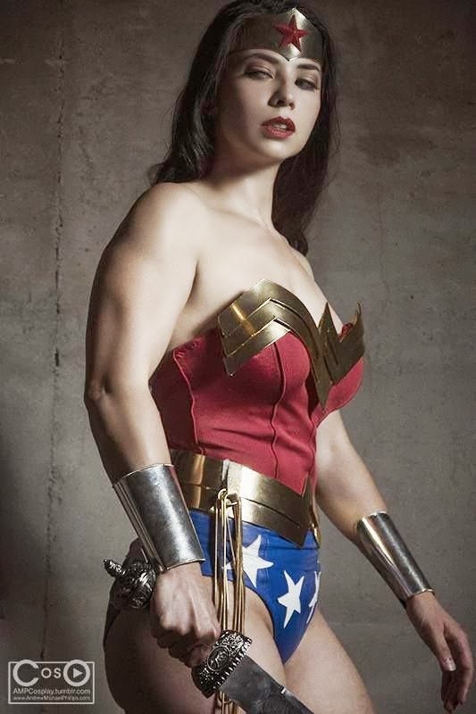 Margie Vizcarra Cox - Wonder Woman!