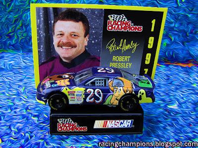 Robert Pressley #29 Scooby Doo Racing Champions 1/64 NASCAR diecast blog Presley Winston Cup Shaggy