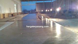 jasa trowel beton trowl lantai halus mengkilap rata murh harga borong per meter terpasang jakarta surabaya yogjakarta bandung jawa barat semarang kendal tegal pekalongan