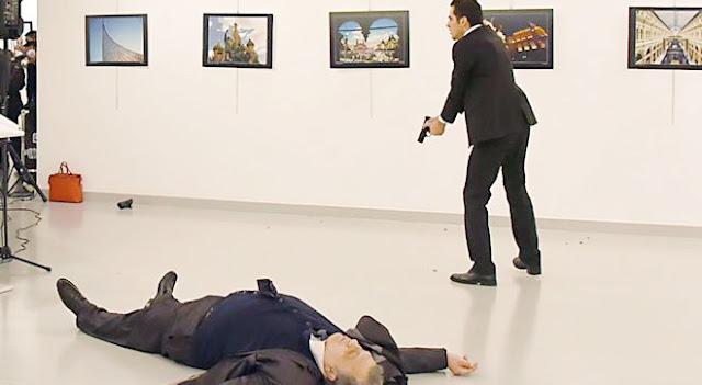 Dubes Rusia Tewas Ditembak Polisi Turki