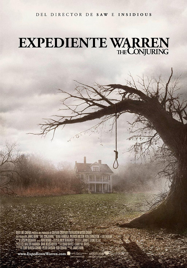 EXPEDIENTE WARREN (James Wan-2013)