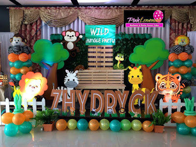 Safari themed Stage Decor