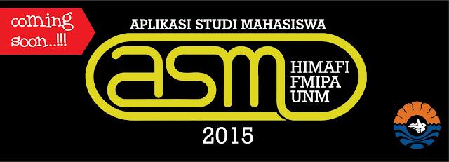 aplikasi studi mahasiswa ASM Himafi fmipa unm