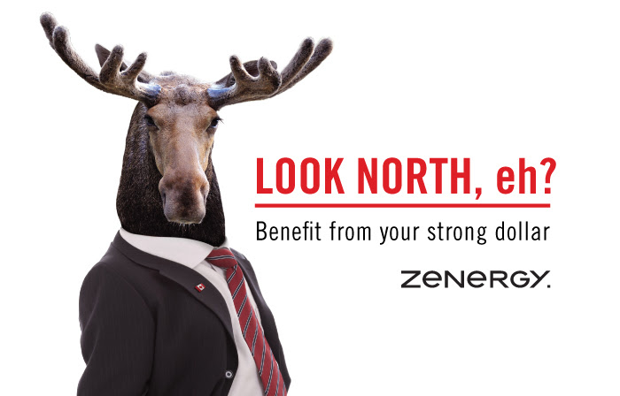 Canadian marketing company encourages Americans to Look North, eh?