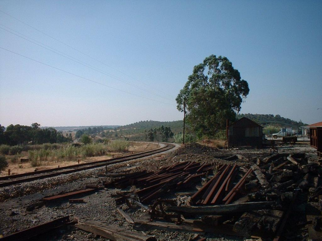 Minas De Aljustrel: Os Caminhos De Ferro: Ramal De Aljustrel