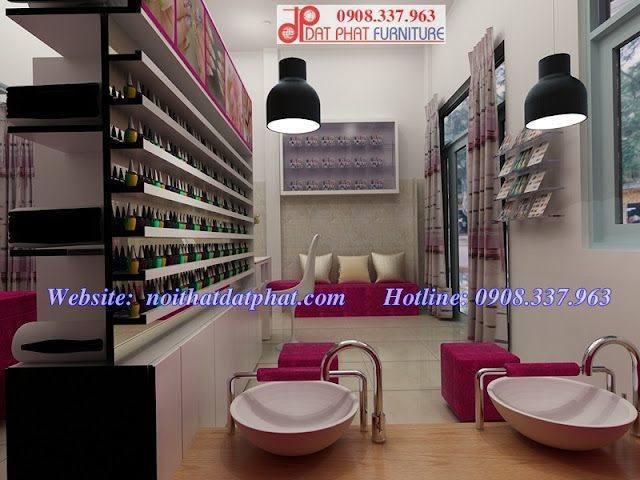 mẫu thiết kế tiệm Nail, thiết kế nội thất tiệm Nail diện tích nhỏ, thiết kế tiệm nail, thiết kế tiệm nail diện tích nhỏ, tư vấn thiết kế tiệm nail,