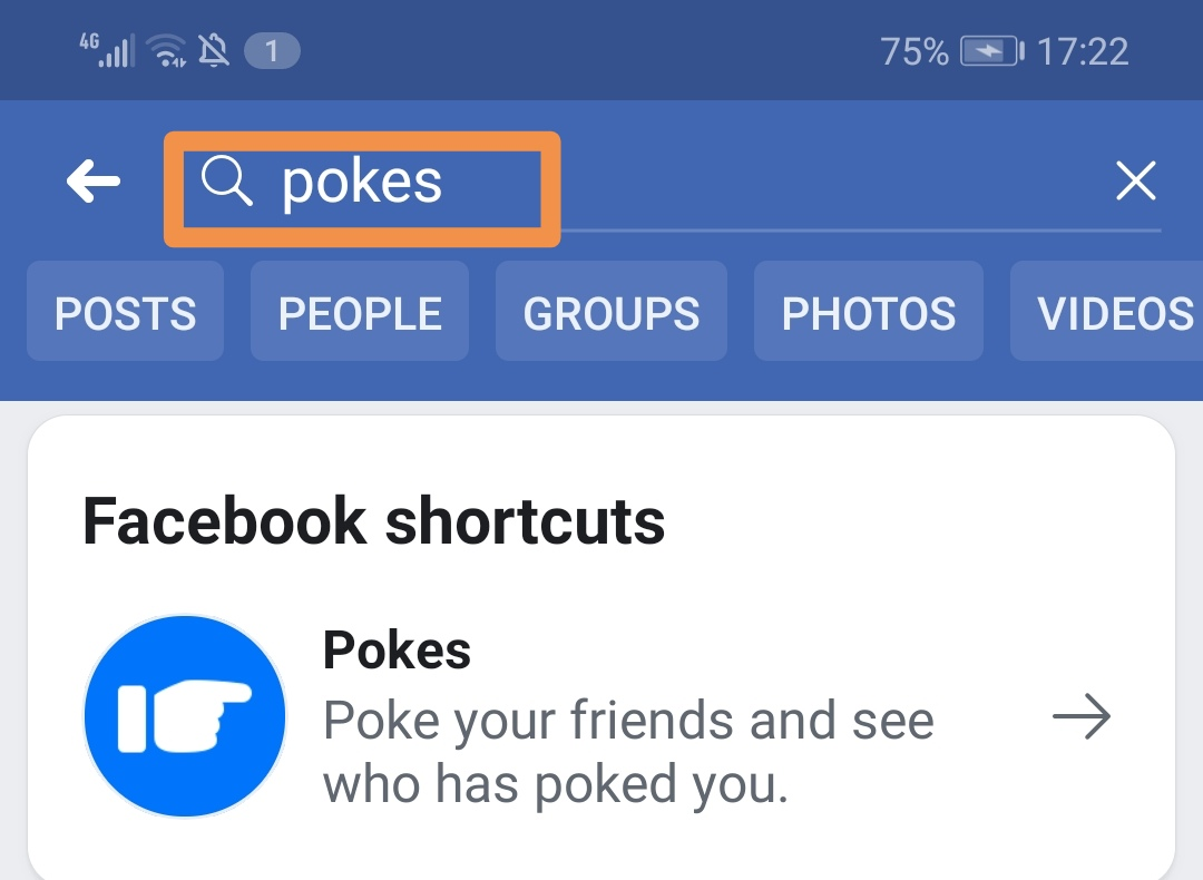 طريقة نكز صديق على الفيسبوك Pokes Facebook