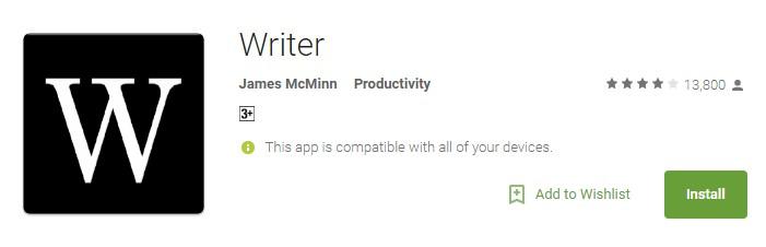 Writter App