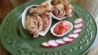 Пържени пилешки крилца - рецепта