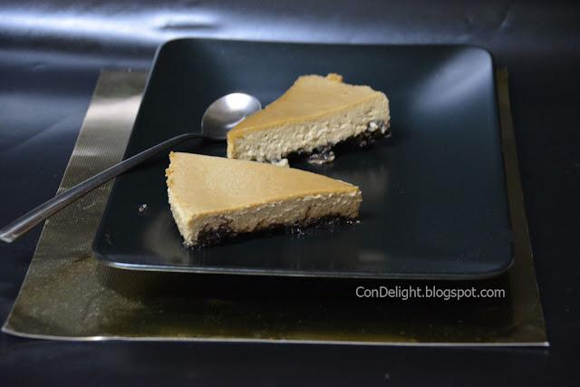 עוגת גבינה וקפה לשבועות Coffee cheesecake
