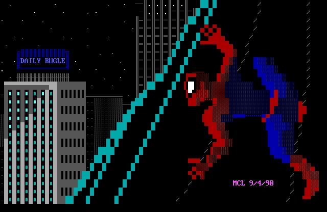 Spider-Man (ansi art)