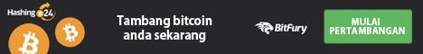 Cloud Mining terdaftar di Blockchain