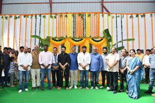 Jr NTR & Ram Charan's #RRR Movie Launch Event Photos, #SSRajamouli #JrNTR #RamCharan