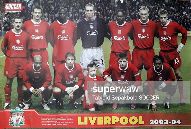 POSTER TIM LIVERPOOL 2003-04
