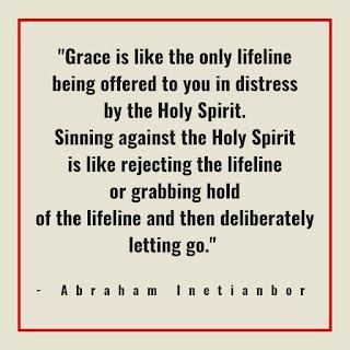 sin against the holy spirit