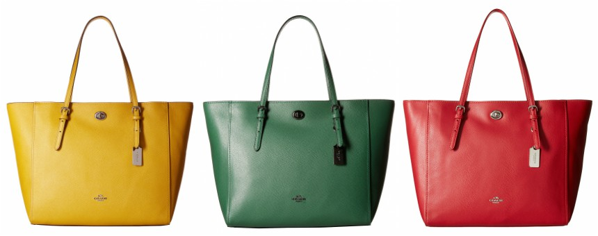 Coach Turnlock Totes for only $125-$150 (reg $295) + free shipping