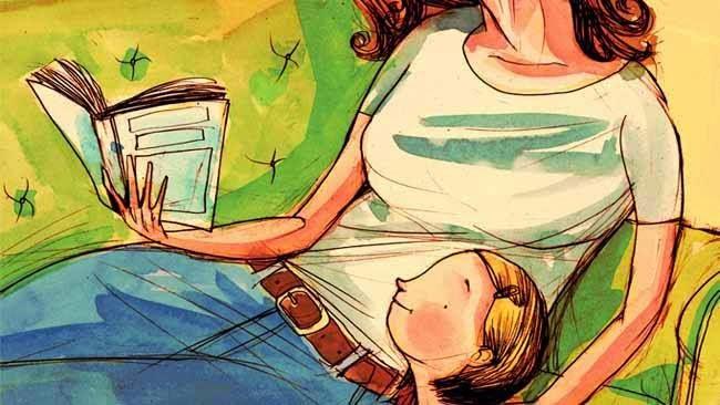 Madre lectora, de Dave Bentley