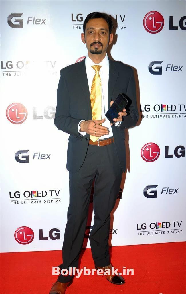 LG G Flex Smartphone Launch, Celebs at LG G Flex Smartphone Launch