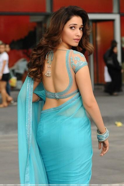 HD Tamanna Bhatia Hot Back Photos